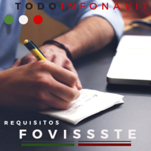 Requisitos para solicitar Fovitssse