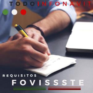 Requisitos para solicitar Fovitssse